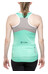 Cube Tour WLS Mouwloze jersey Dames turquoise